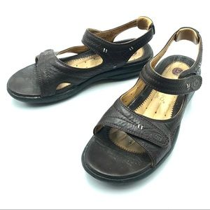 Clark's Leather Sandals, Size 7, EUC